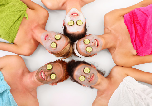 girls night out facial services